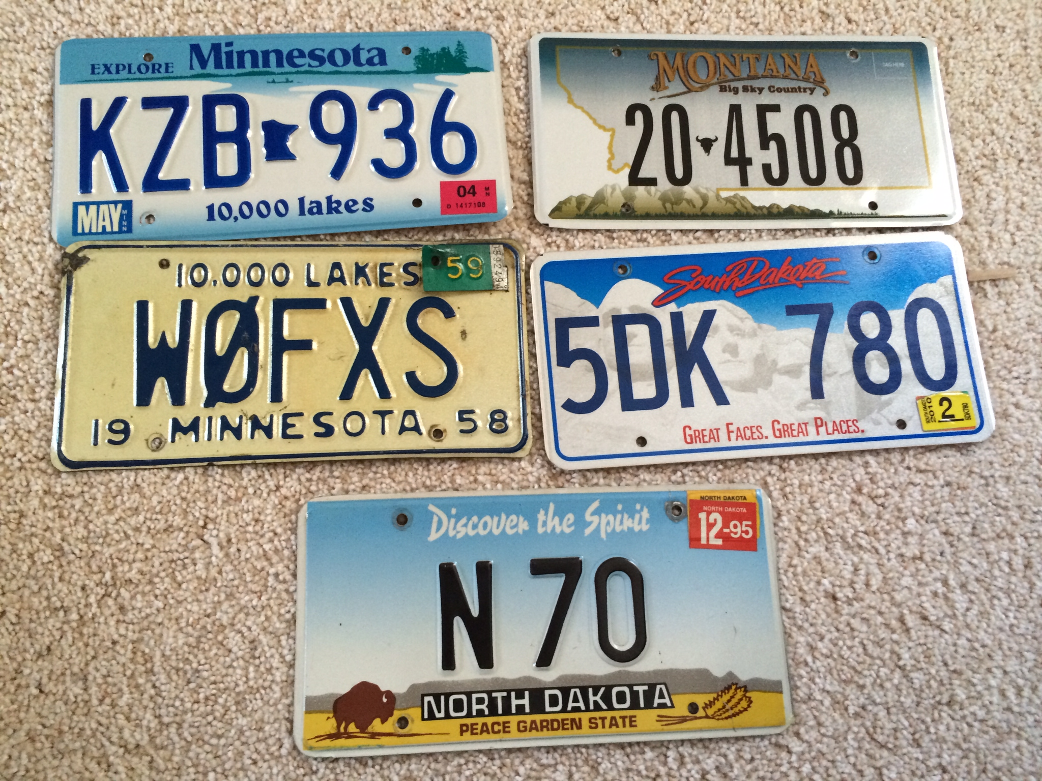 License Plates – Jake Bechtold