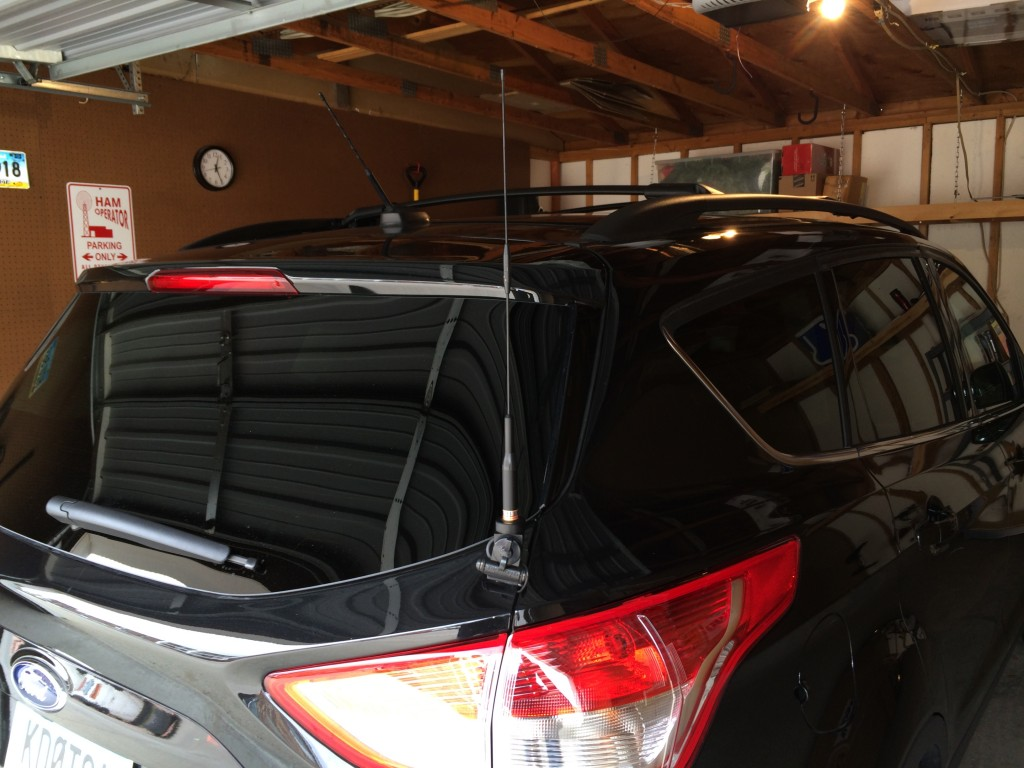2014 Ford Escape Ham Radio Setup Jake Bechtold 2012 Focus Antenna Img 0033